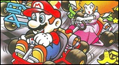 Chronique Speed Game s'affronte sur Super Mario Kart - Super Nintendo