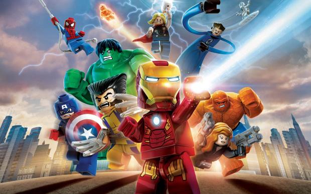 fond d 39 cran du jeu lego marvel super heroes 2880x1800. Black Bedroom Furniture Sets. Home Design Ideas
