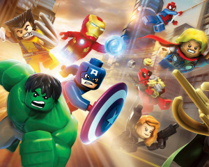 Jaquette de LEGO Marvel Super Heroes