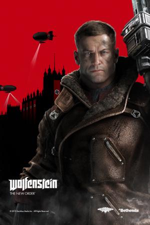 Jaquette de Wolfenstein : The New Order