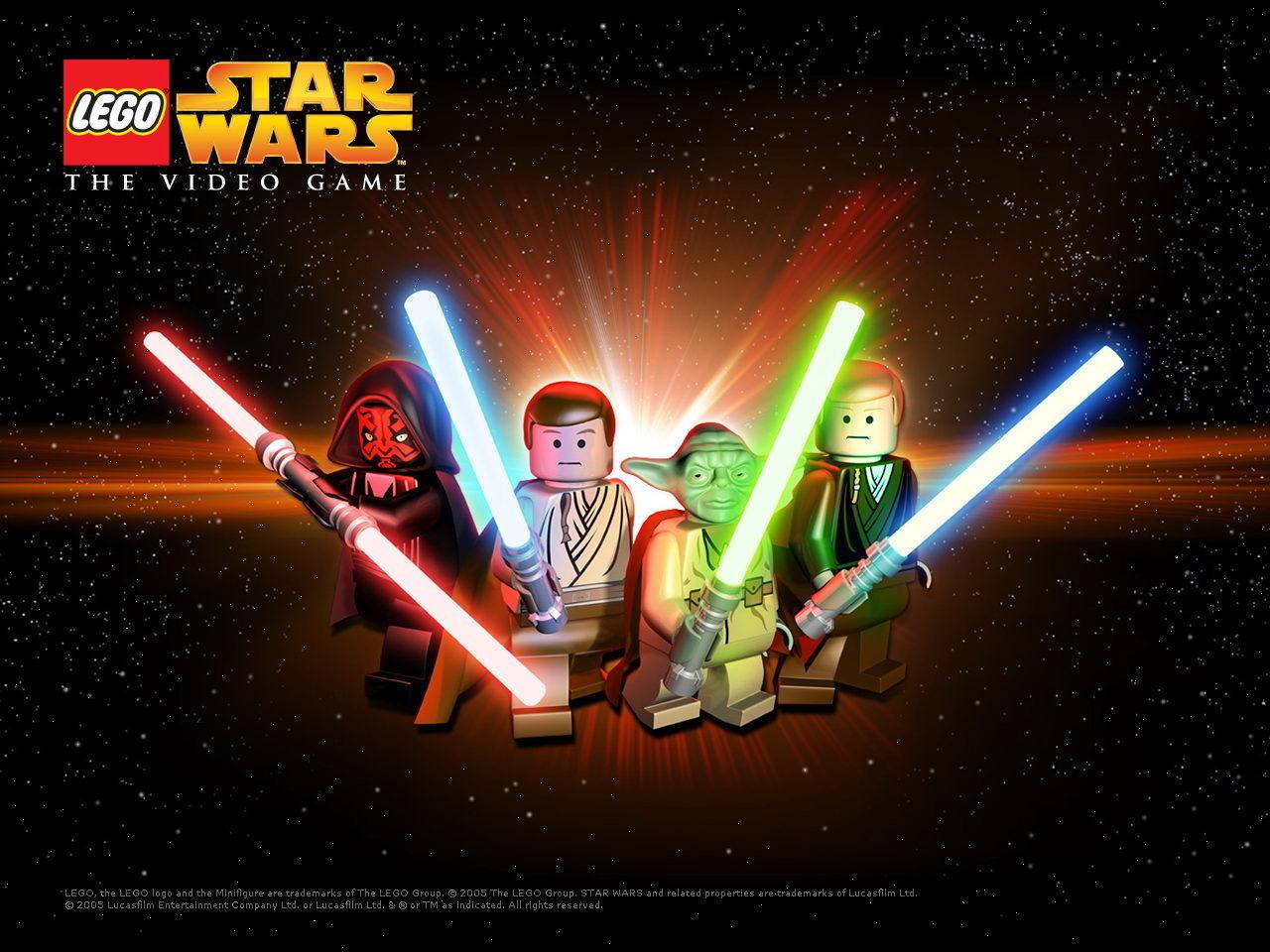 fond d 39 cran du jeu lego star wars le jeu vid o 1280x960 385856. Black Bedroom Furniture Sets. Home Design Ideas