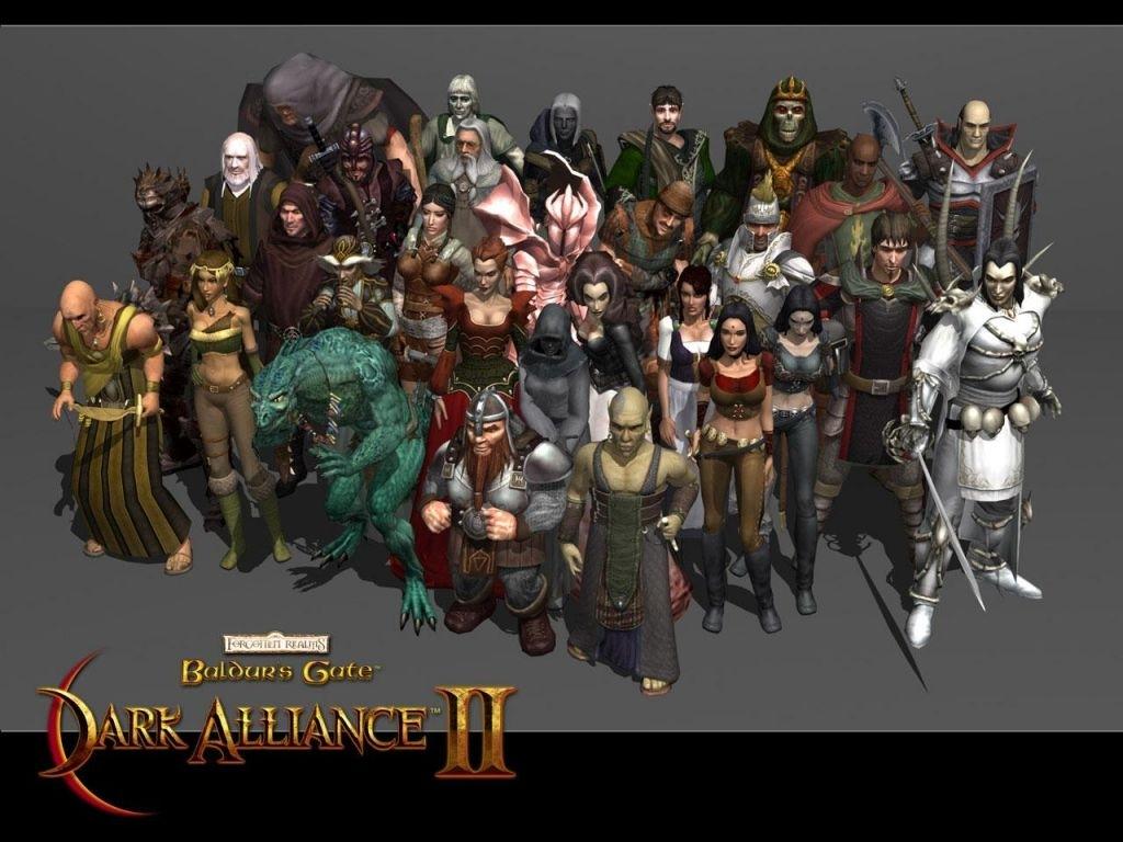 Fond D 233 Cran Du Jeu Baldur S Gate Dark Alliance Ii