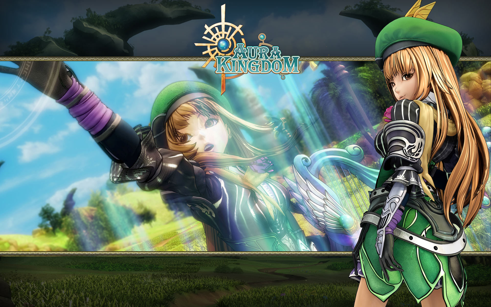 Aura kingdom wallpaper the image kid for Fond ecrant pc