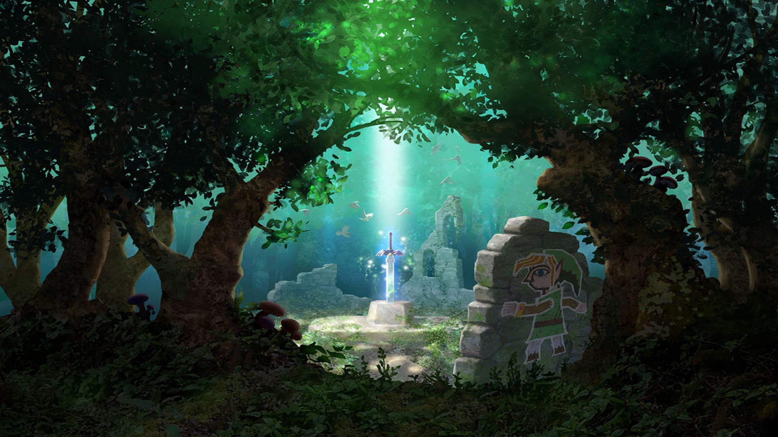 legend of zelda wallpaper