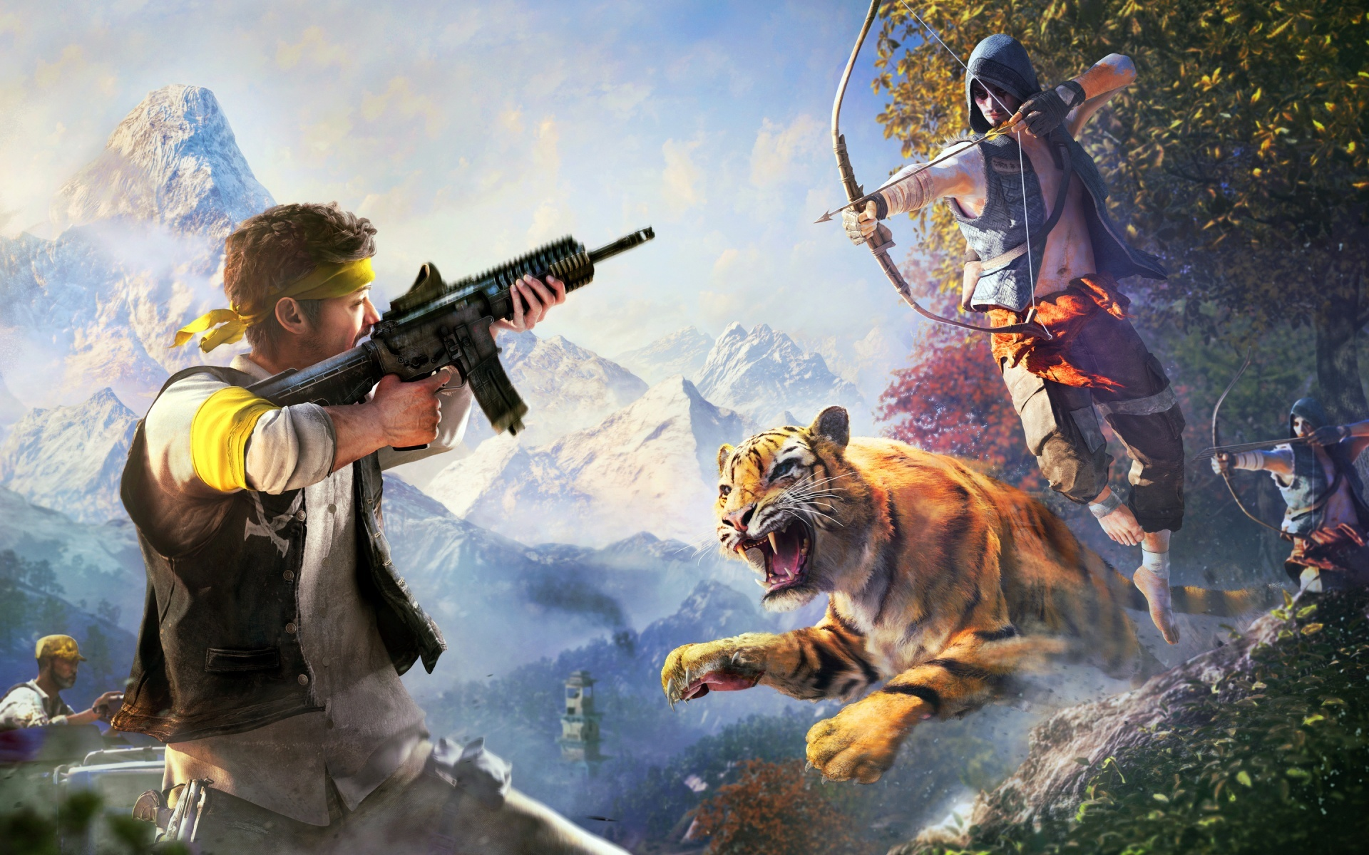 fond d'ecran far cry 4