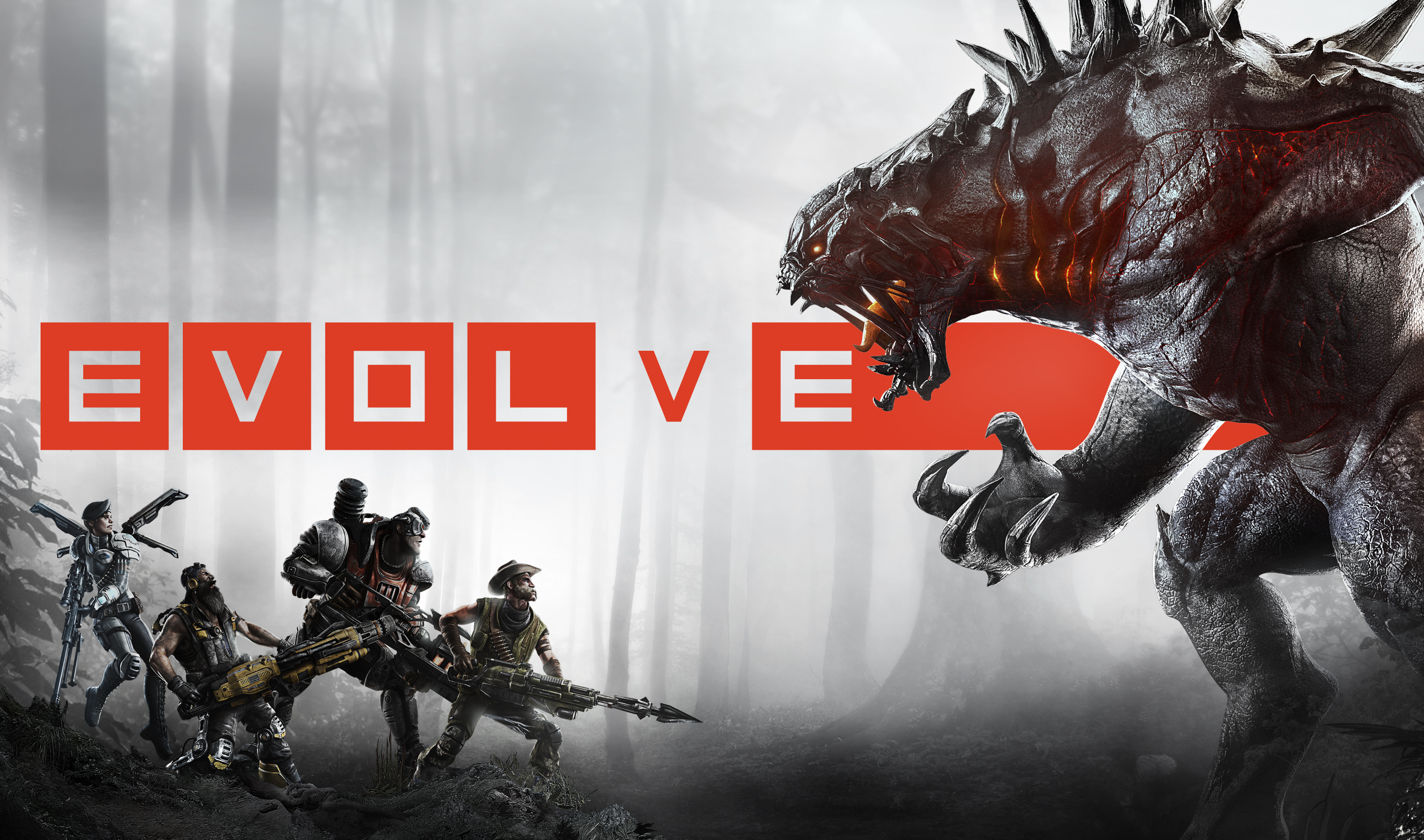Evolve : 4 VS 1 Evolve-42447-wp