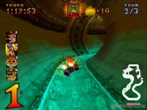 لعبة السيارات الرهيبة Crash Team Racing بحجم95ميجا وبرابط صاروخي