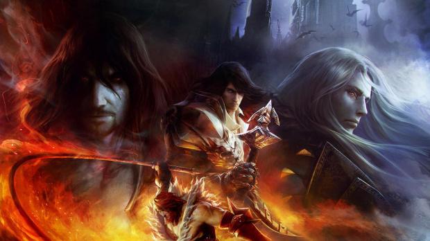 Un visuel pour la boîte de Castlevania : Mirror of Fate