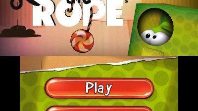 Cut the Rope : 3 en 1 sur 3DS
