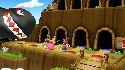 Mario Party Island Tour jouable à quatre avec une seule cartouche