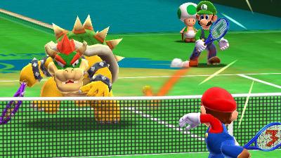 Mario Tennis trouve une date sur 3DS