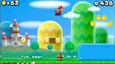 Un concours de speedrun sur New Super Mario Bros. 2