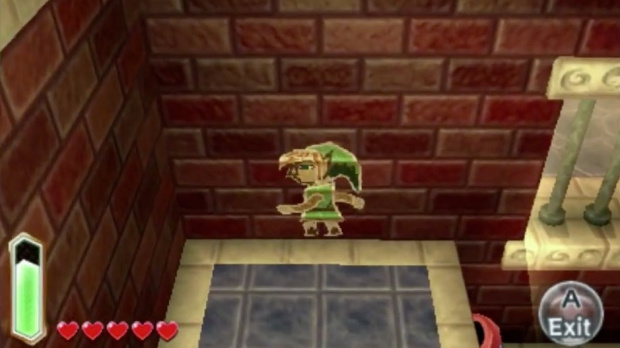 Zelda : Graffiti-Link inspiré par Ocarina of Time