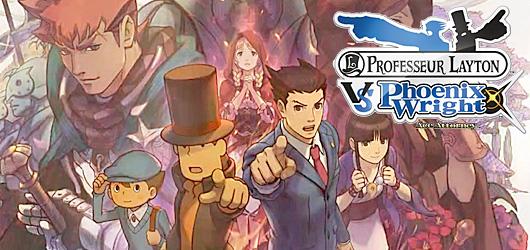 Professeur Layton vs Phoenix Wright : Ace Attorney