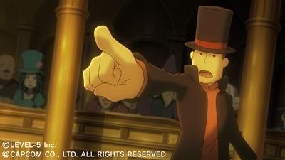 Images de Professor Layton VS Ace Attorney