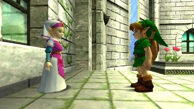 Images comparatives de Ocarina of Time N64 et 3DS
