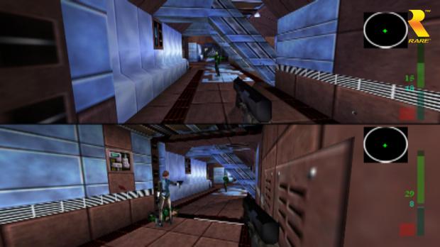 Comparez Perfect Dark sur N64 et sur Xbox 360