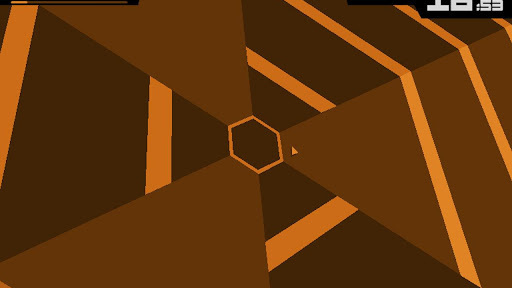 Super Hexagon disponible sur Android