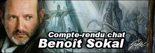 Compte rendu du Chat avec Benoît Sokal