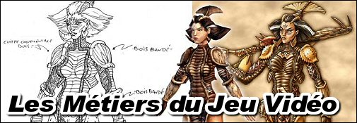 Les metiers du jeu video