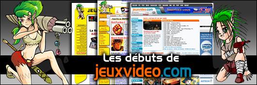 Les débuts de Jeuxvideo.com