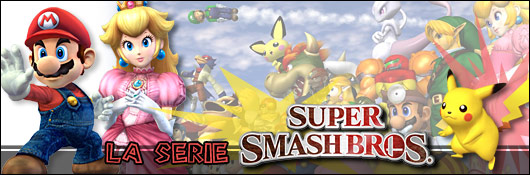 La série Super Smash Bros.