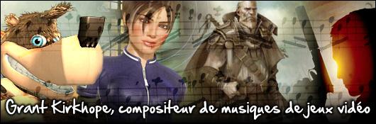 Grant Kirkhope, compositeur de musiques de jeux vidéo