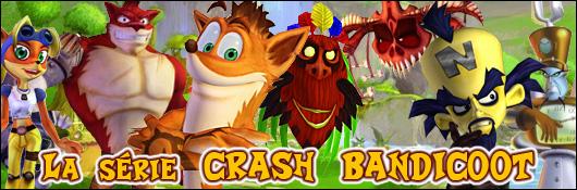 La série Crash Bandicoot