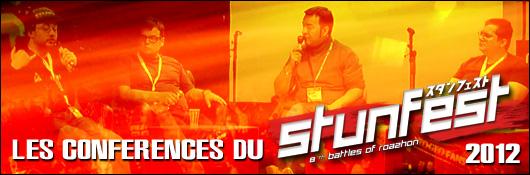 Les conférences du Stunfest 2012