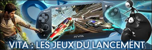 Vita : Les jeux du lancement
