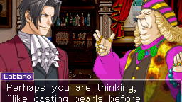 Une démo flash pour Ace Attorney Investigations : Miles Edgeworth