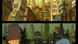 Images du Professeur Layton et le Destin Perdu
