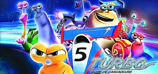 Turbo: Equipe de Cascadeurs