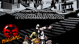 Site officiel pour The World Ends With You