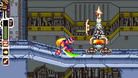 Mega Man Zero Collection sur DS