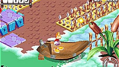 Rayman rebondit sur GBA