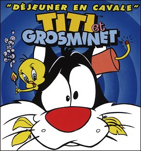 Titi Et Grosminet : Dejeuner en Cavale