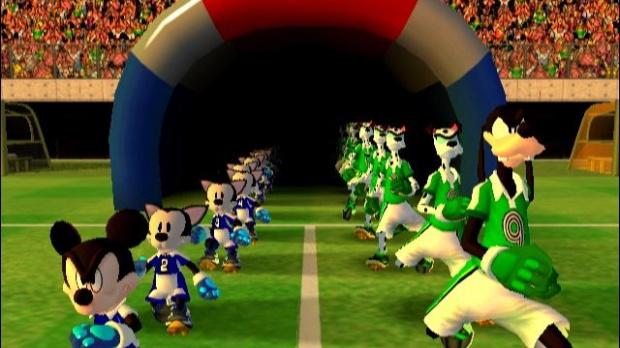 Disney et Konami font du foot
