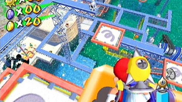 Mario :  Carton aux U.S