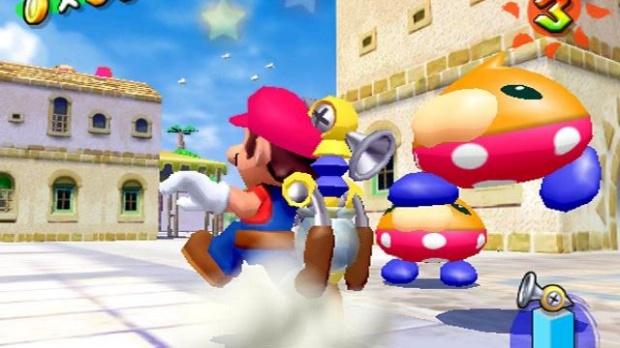 Carton en Europe pour Mario
