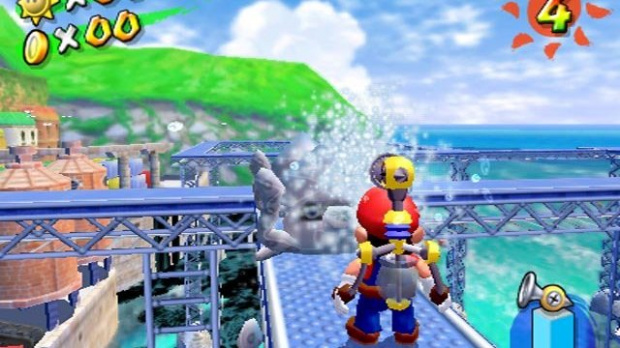Oldies : Super Mario Sunshine