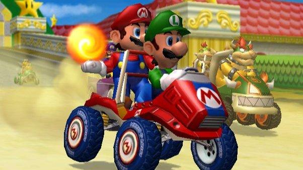 Nouveau site pour Mario Kart
