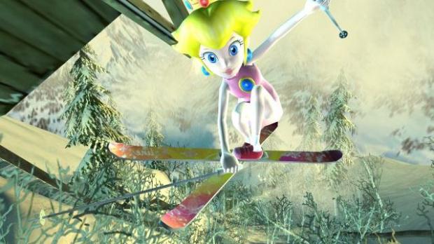 Mario et compagnie chaussent les skis