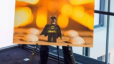 Expo: LEGO Batman n'est pas discret