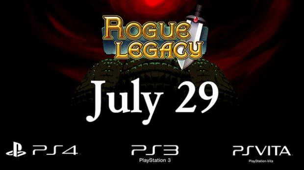 Rogue Legacy chez Sony le 30 juillet