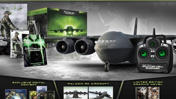 Une édition collector téléguidée pour Splinter Cell Blacklist