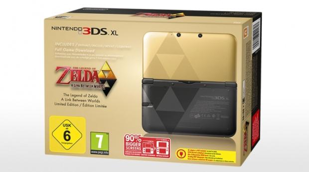 Une 3DS XL Zelda : A Link Between Worlds