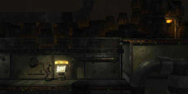 Une première image d'Oddworld Abe's Odyssey HD