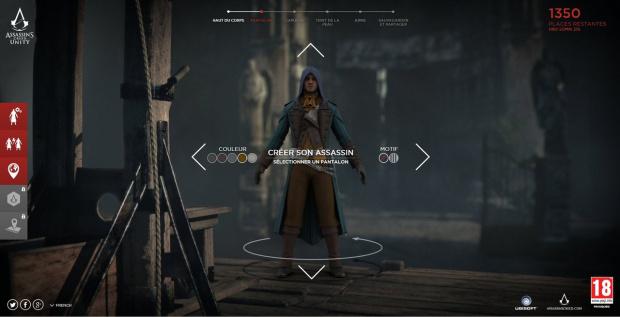 Votre assassin dans le prochain trailer d'Assassin's Creed Unity
