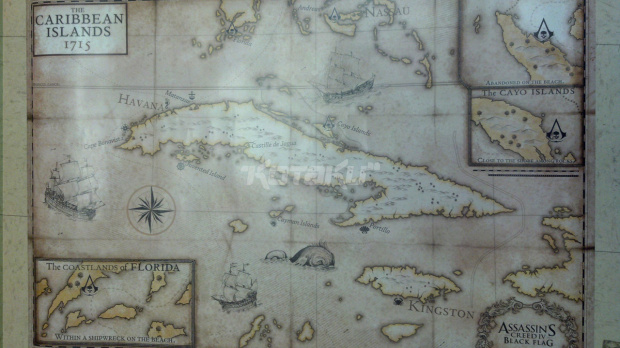 Assassin's Creed IV : La map dévoilée ?